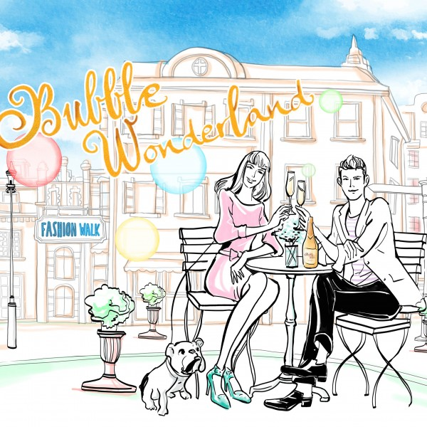 Bubble Wonderland x French GourMay - Wine Tasting Experience